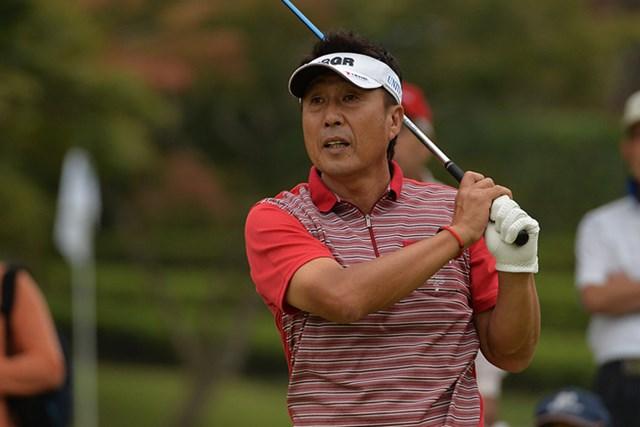 奥田靖己は3打差を追い最終日へ※画像提供:日本プロゴルフ協会