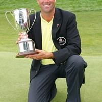 昨年大会は1打差で後続を振り切り、S.シンクが優勝を飾った(Jim Rogash /Getty Images) 2009年 トラベラーズ選手権 事前 スチュワート・シンク