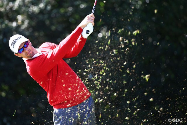 2015年 日本オープンゴルフ選手権競技 事前 アダム・スコット 日本オープンに今年もアダム・スコットがやって来る!※画像は昨年の大会初日