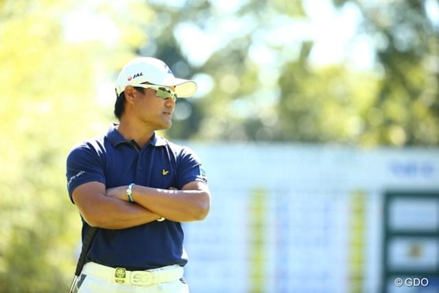 2015年 日本オープンゴルフ選手権競技 2日目 宮里優作 宮里優作は首位と6打差の7位タイ。ムービングデーに浮上できるか?