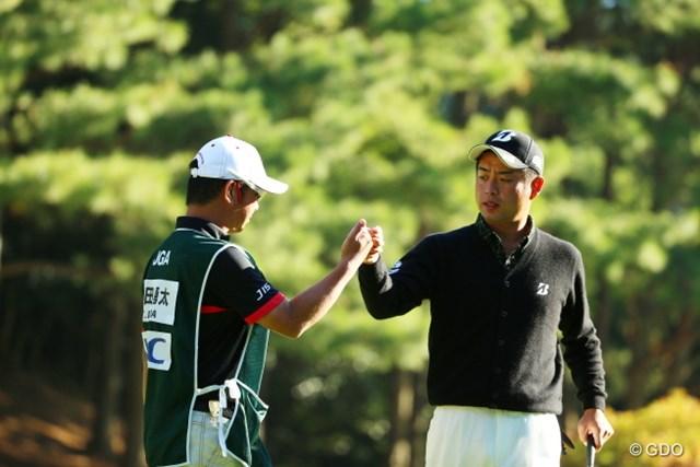 2015年 日本オープンゴルフ選手権競技 2日目 池田勇太 2日続けての「68」。小平智にはまくられたが、大会連覇へ向け好位置につける池田勇太