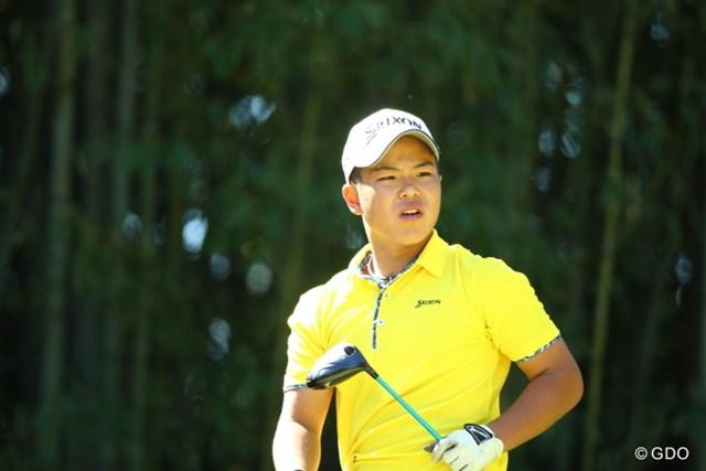 中学生として日本オープン初の予選突破を果たした池田悠希
