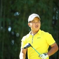 中学生として日本オープン初の予選突破を果たした池田悠希 2015年 日本オープンゴルフ選手権競技 2日目 池田悠希