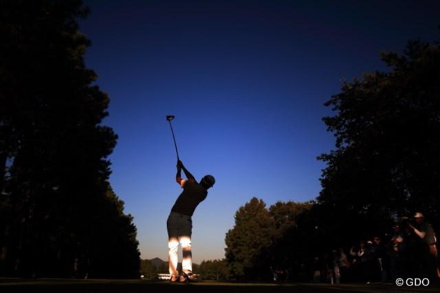 2015年 日本オープンゴルフ選手権競技 2日目 小平智 雰囲気重視。
