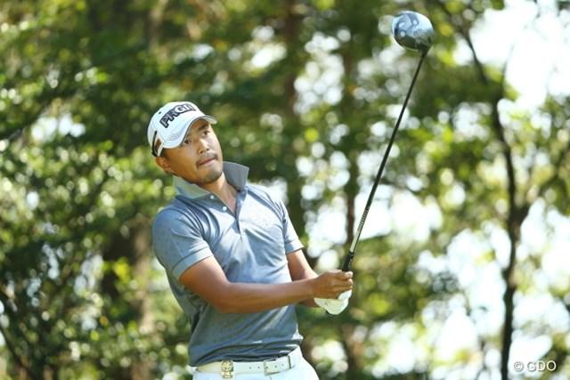 2015年 日本オープンゴルフ選手権競技 3日目 小平智 2打差のリードをキープし、メジャー通算2勝目に王手をかけた小平智