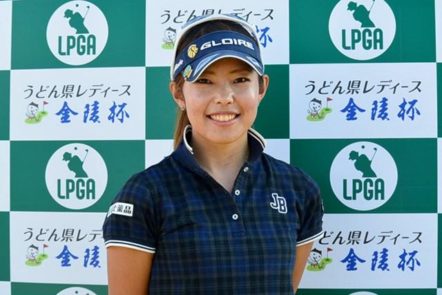 初優勝へ絶好のスタートを切った濱美咲 ※画像提供:LPGA