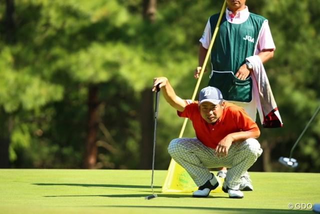 2015年 日本オープンゴルフ選手権競技 3日目 池田勇太 おーし、タイマン勝負だ。
