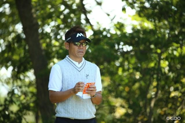 2015年 日本オープンゴルフ選手権競技 3日目 田中秀道 きょうも秀道ファンのために。