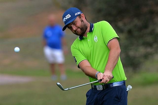 2015年 ポルトガルマスターズ 3日目 アンディ・サリバン 後続に5打差をつける快調なゴルフで、サリバンが今季3勝目に前進した(Tony Marshall/Getty Images)