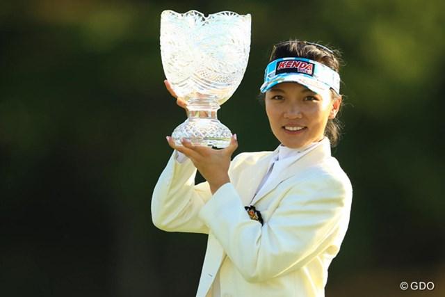 完全優勝で今季5勝目を飾ったテレサ・ルー。生涯獲得賞金は4億円を突破した