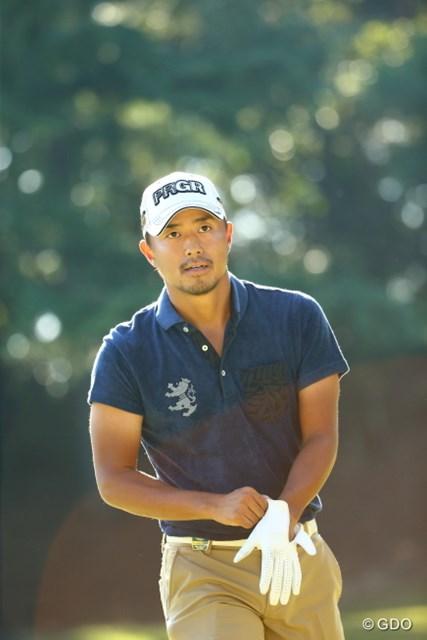 2015年 日本オープンゴルフ選手権競技 最終日 小平智 昨年2位のリベンジを果たし、自身初の「日本オープン」タイトルを獲得した小平智