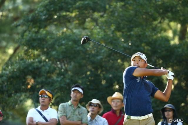 2015年 日本オープンゴルフ選手権競技 最終日 小平智 振ったねー。