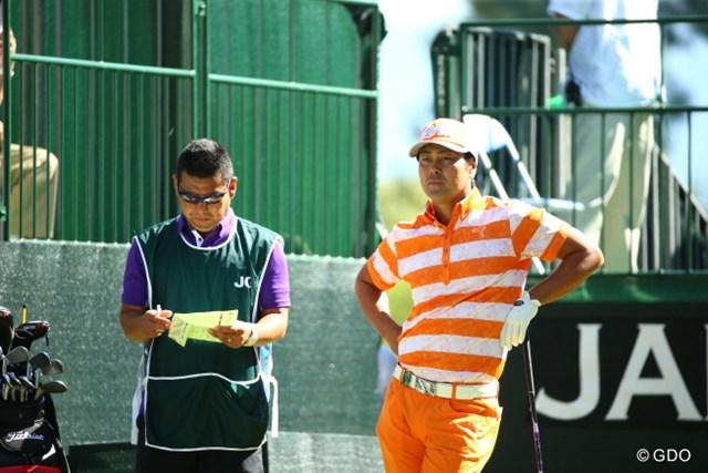 2015年 日本オープンゴルフ選手権競技 最終日 谷原秀人 リッキーがいるのかと思ったわい。