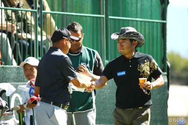 2015年 日本オープンゴルフ選手権競技 最終日 片山晋呉 谷口徹 久しぶりの直接対決だね。