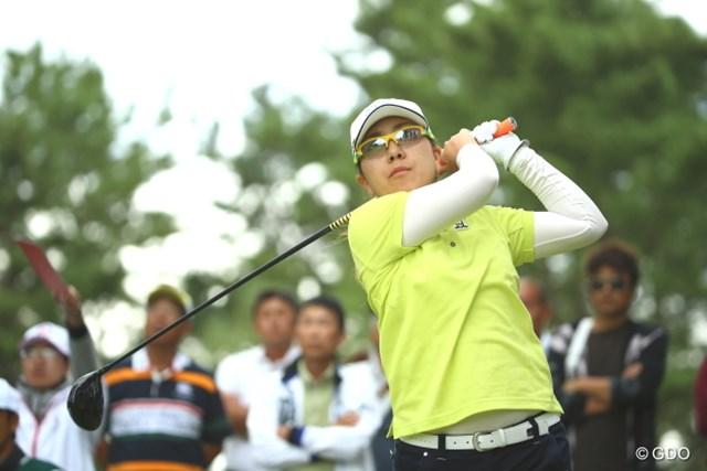 2週連続トップ10フィニッシュを決めた宮里美香※撮影は日本女子オープン