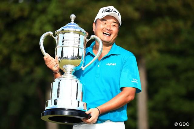 小田孔明 昨年は小田孔明がシーズン2勝目を挙げた