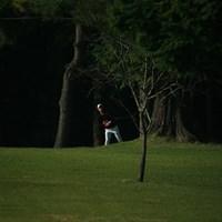朝一左に大曲 スタートダボだがこの後挽回! 2015年 ブリヂストンオープンゴルフトーナメント 初日 長谷川祥平
