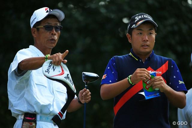 2015年 ブリヂストンオープンゴルフトーナメント 初日 稲森佑貴 父と掴む勝利へ!