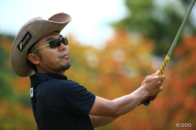 2015年 ブリヂストンオープンゴルフトーナメント 2日目 片山晋呉 前半5つのバーディラッシュで9位タイに急浮上した片山晋呉