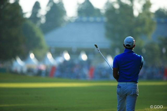 2015年 ブリヂストンオープンゴルフトーナメント 3日目 堀川未来夢 あしたはどんな気持ちで18番に立ってるか