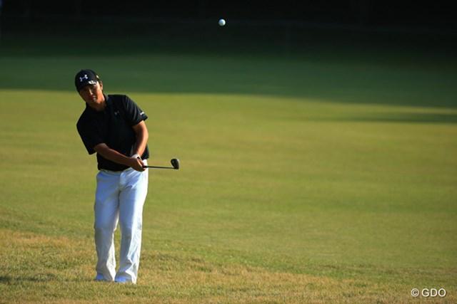 2015年 ブリヂストンオープンゴルフトーナメント 3日目 小林伸太郎 6位で最終日を迎える小林伸太郎は鬼門の17番を攻略できるか