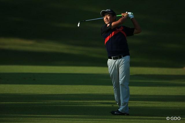 2015年 ブリヂストンオープンゴルフトーナメント 3日目 稲森佑貴 初の「最終日最終組」から1打差を追う稲森佑貴。ツアー初優勝を狙う