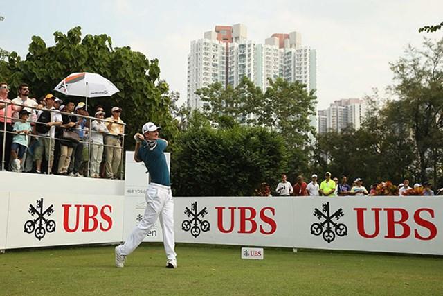 4打差で首位タイに立つジャスティン・ローズ※アジアンツアー提供(Getty Images)