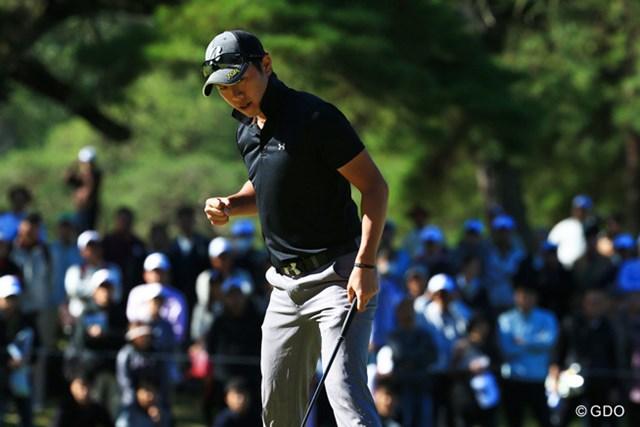 2015年 ブリヂストンオープンゴルフトーナメント 最終日 堀川未来夢 自己最高の2位タイでフィニッシュし、賞金シードに当確ランプを点灯させた堀川未来夢