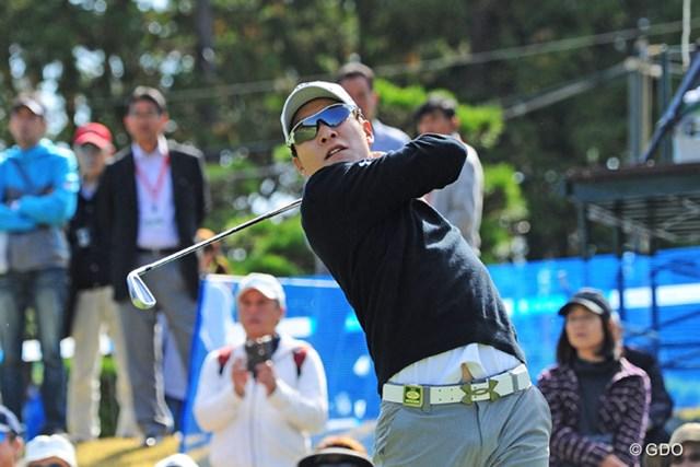 2015年 マイナビABCチャンピオンシップゴルフトーナメント 初日 キム・キョンテ キム・キョンテが首位でスタートした