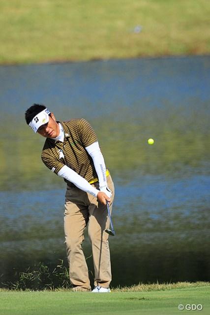 2015年 マイナビABCチャンピオンシップゴルフトーナメント 初日 宮本勝昌 前半は軽快に3つ伸ばして日本人トップやったのに、後半スコアを落として…。8位タイ