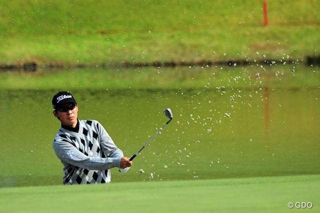 2015年 マイナビABCチャンピオンシップゴルフトーナメント 2日目 川村昌弘 日亜ツアーの掛け持ちを続ける川村昌弘。欧州進出へ追い風は吹くか