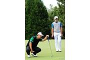 2015年 マイナビABCチャンピオンシップゴルフトーナメント 3日目 リュー・ヒュヌ キム・キョンテ