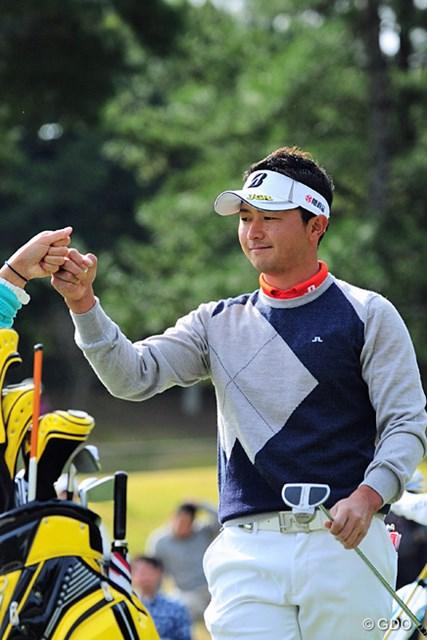 2015年 マイナビABCチャンピオンシップゴルフトーナメント 最終日 片岡大育 2位で終えた片岡大育。改造中のスイングに好感触をつかみコースを後に