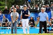 2015年 マイナビABCチャンピオンシップゴルフトーナメント 最終日 キム・キョンテ リュー・ヒョヌ イ・キョンフン