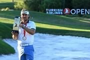 2015年 トルコ航空オープン 最終日 ビクトル・デュビッソン