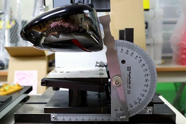 リアルロフトは10.5度。スリーブを調整すると、8.5度から13度まで可変させられる