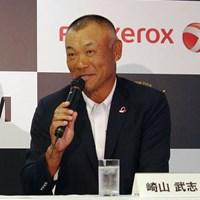 賞金ランクトップに立つ崎山武志は12月に米シニアツアー予選会に挑戦する 2015年 富士フイルムシニアチャンピオンシップ 事前 崎山武志