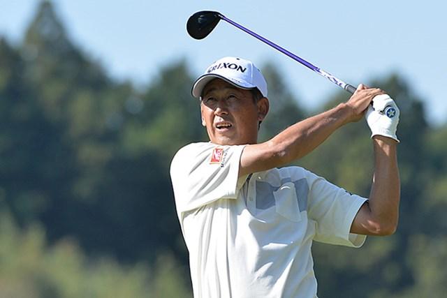 渡辺司が室田淳を捕らえ、首位に並んで最終日を迎える※画像提供:日本プロゴルフ協会