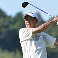 渡辺司が室田淳を捕らえ、首位に並んで最終日を迎える※画像提供:日本プロゴルフ協会 2015年 富士フイルムシニアチャンピオンシップ 2日目 渡辺司