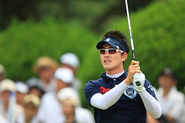 1バーディ1ボギーと大人しいゴルフだったこの日の金亨成