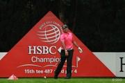 2015年 WGC HSBCチャンピオンズ 3日目 松山英樹