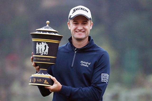 スコットランドのラッセル・ノックスが通算20アンダーとしツアー初優勝を飾った(Getty Images Sport Scott Halleran)