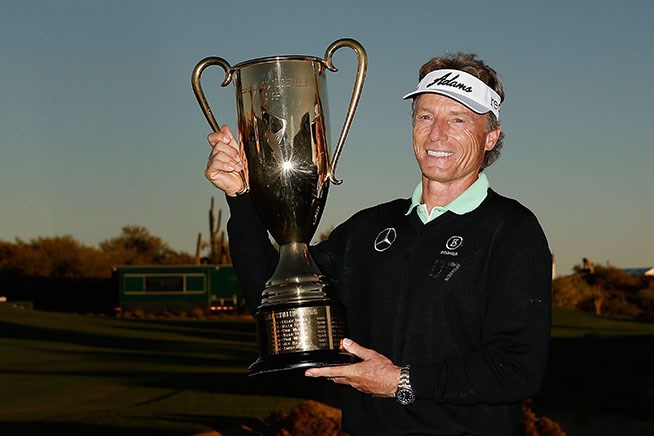 ランガー、逆転で4年連続賞金王に 優勝はアンドレード