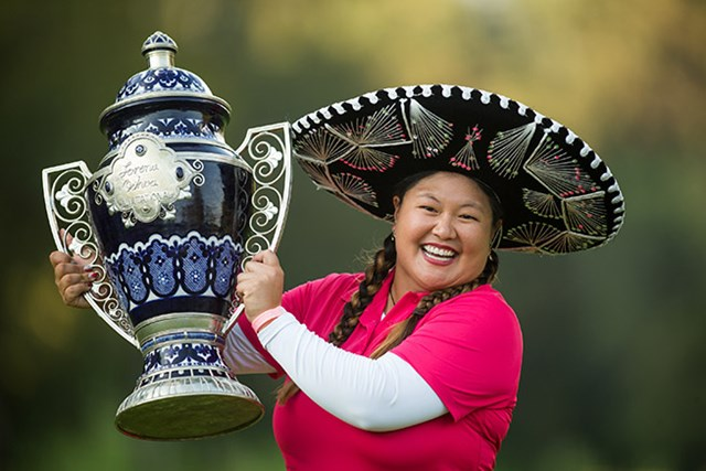 クリスティナ・キム 昨年はクリスティナ・キムが9季ぶりのツアー優勝を果たした