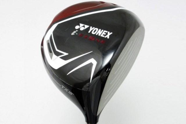 画像 ヨネックス i-EZONEドライバーTX 中古クラブ ヘッドのクラウン部分はカーボンになっていて、低重心で低スピン弾道が打ちやすい