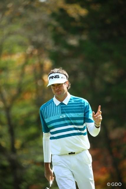 入らなくても、寒くても…ワトソンは日本ツアー初勝利へ向け首位で予選を通過