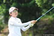 2009年 プロミスレディスゴルフトーナメント 2日目 永井奈都