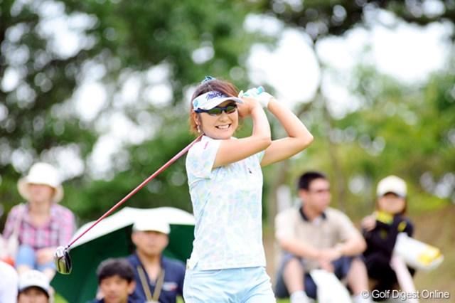 2009年 プロミスレディスゴルフトーナメント 最終日 藤田幸希 2006、2007年大会の覇者、藤田幸希が単独4位フィニッシュ!