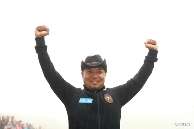 濃霧で中止になった最終日。片山晋呉は3日間54ホールでの完璧な内容を誇った