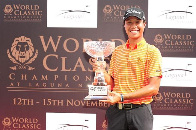 谷昭範は11位 タイ出身の19歳が初優勝